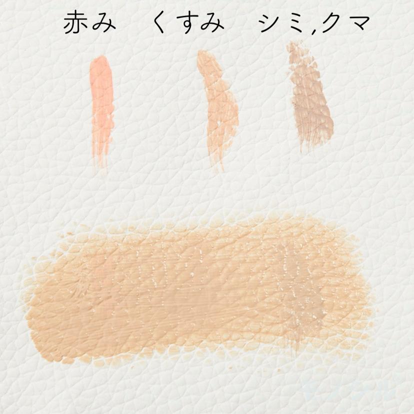 kiss(キス) マットシフォン UVリキッドファンデの商品画像7 商品のカバー力についての検証画像