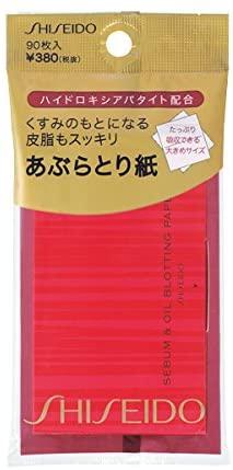 資生堂(SHISEIDO) くすみのもとになる皮脂もスッキリあぶらとり紙の商品画像2