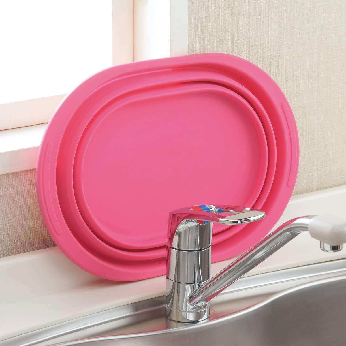 和平フレイズ(FREIZ) 洗い桶 スキッとシリコーン 。 SR-4883の商品画像4