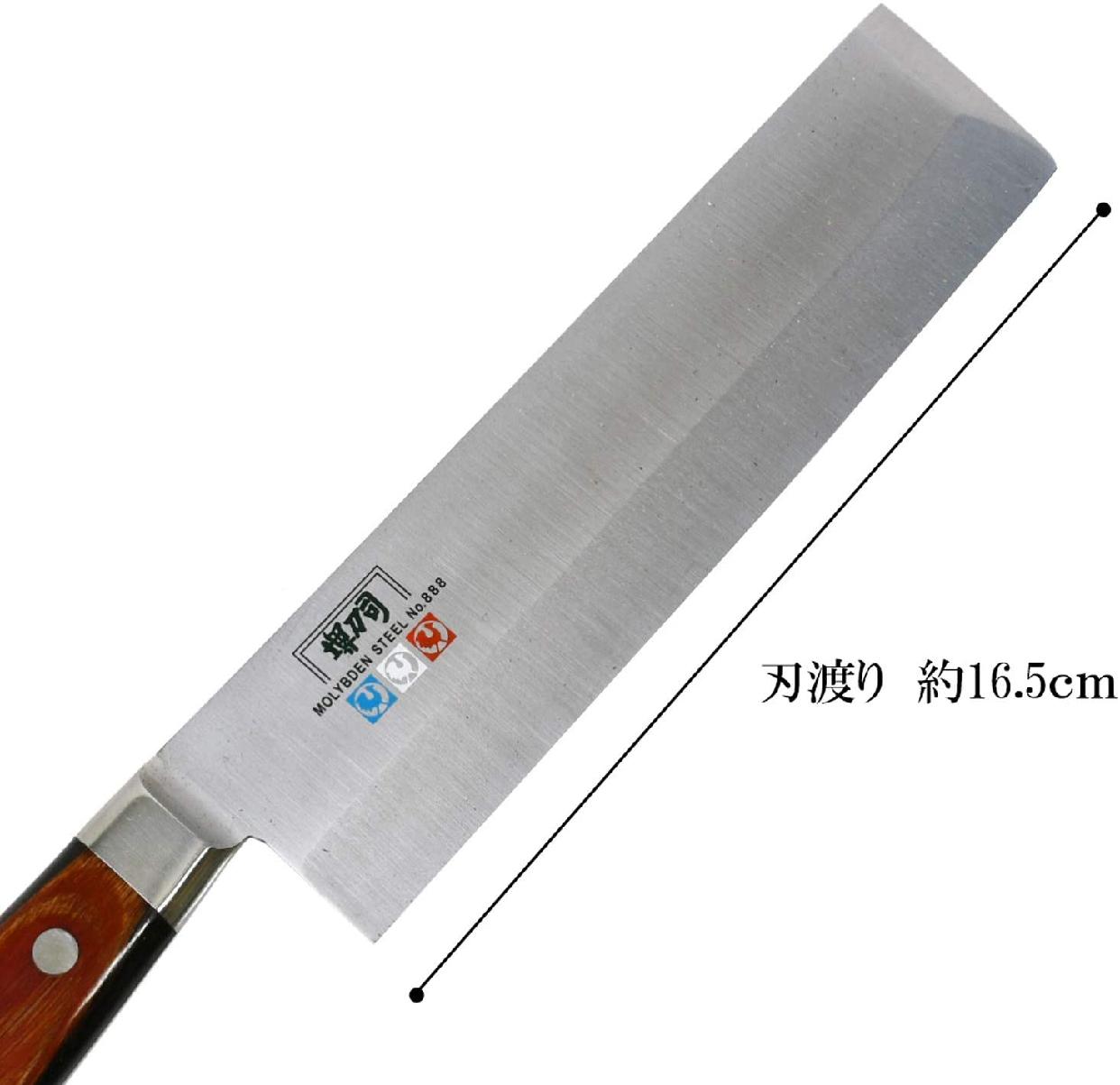 堺刀司 菜切り包丁165mm A-10116の商品画像3