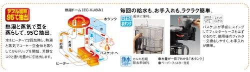 象印(ZOJIRUSHI) コーヒーメーカー珈琲通 EC-FA60の商品画像3