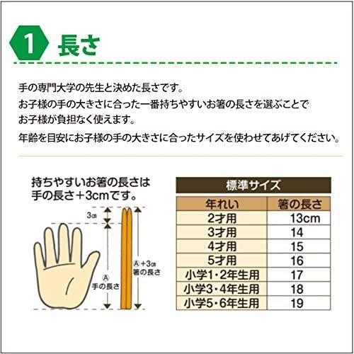 箸匠せいわ(せいわ) 六角知能箸の商品画像2
