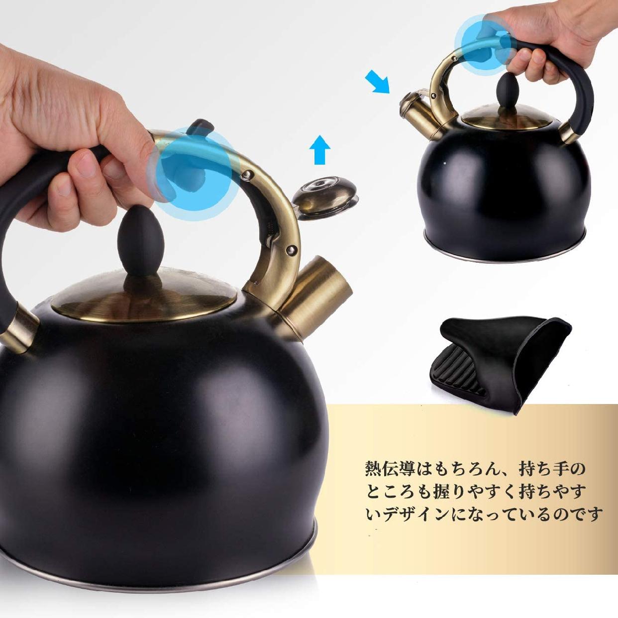 SUSTEAS(サスティーズ) 笛吹きケトル 2.5Lの商品画像5