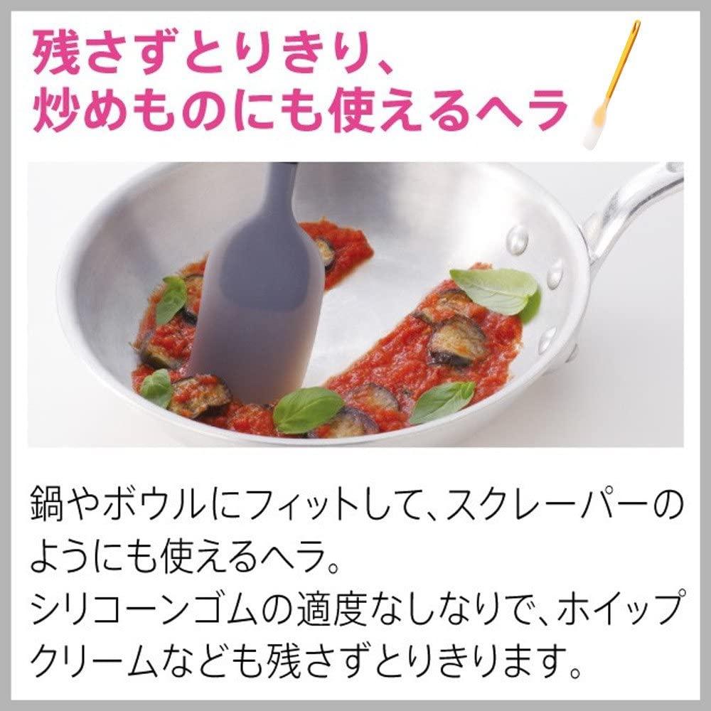 MARNA(マーナ) トライアングリップシリコーンヘラの商品画像4