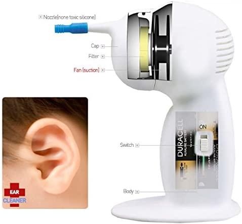EAR CLEANER ワックスリムーバー 電動 耳かきの商品画像2