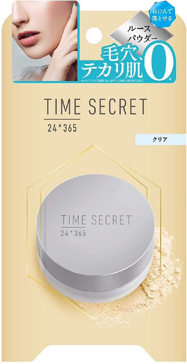 TIME SECRET(タイムシークレット) ミネラルフィニッシュパウダーの商品画像