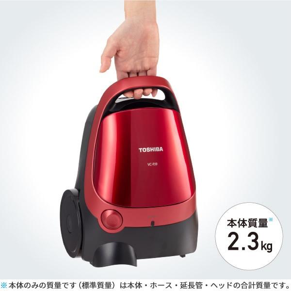 東芝(TOSHIBA) 紙パック式クリーナー VC-PJ9の商品画像3