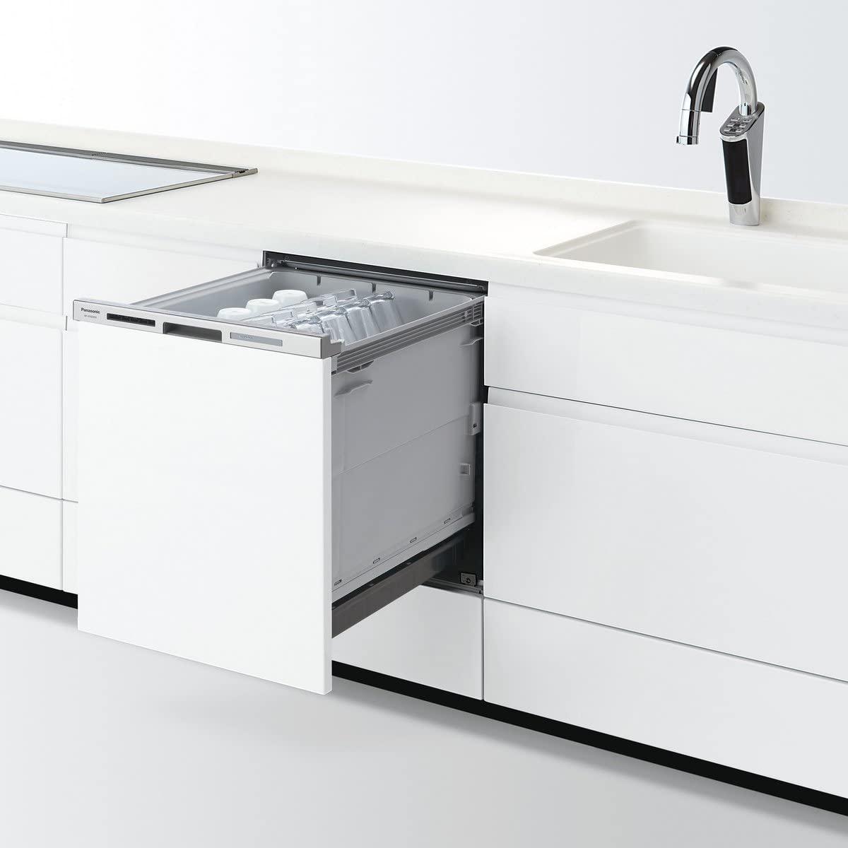 Panasonic(パナソニック) ビルトイン食器洗い乾燥機 NP-45MD8W(ホワイト)の商品画像
