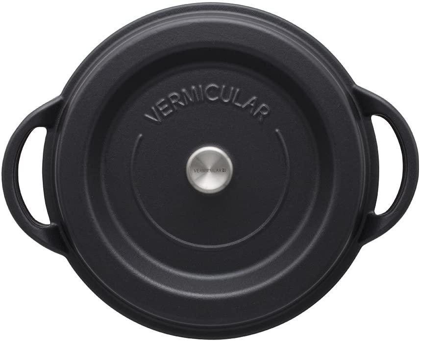 VERMICULAR(バーミキュラ) オーブンポットラウンド26cm マットブラック SUMI(炭)の商品画像5