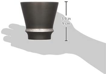 まるぶん 至高の焼酎グラス「いぶし銀」280ml T_98849の商品画像5