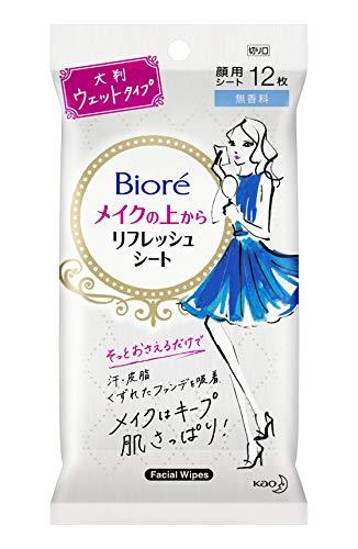 Biore(ビオレ)メイクの上からリフレッシュシートの商品画像1