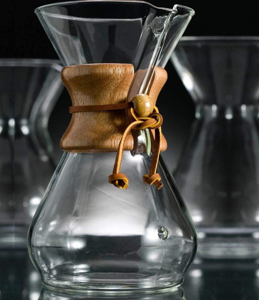 CHEMEX(ケメックス) コーヒーメーカー 6カップ CM-6A クリアの商品画像4