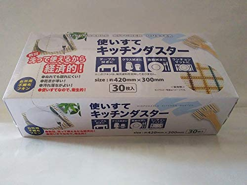 AGENT ONE(エージェントワン)使いすてキッチンダスター チェック柄ベージュの商品画像2