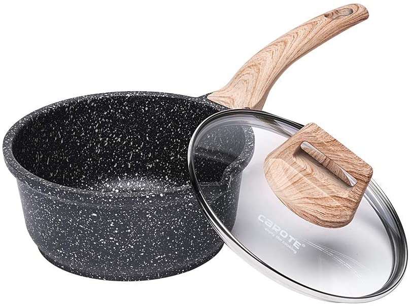 Essential Woody(エッセンシャルウディ)ソースパン 16cm グレーの商品画像