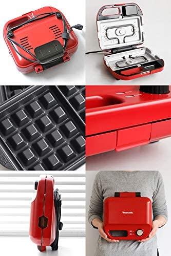 Vitantonio(ビタントニオ)ワッフル&ホットサンドベーカー VWH-50-R レッドの商品画像4