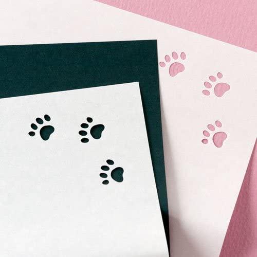 辻徳(ツジトク) ネコの懐紙 白猫 20枚入(足跡型抜白懐紙10枚+黒無地懐紙10枚)20003541の商品画像2