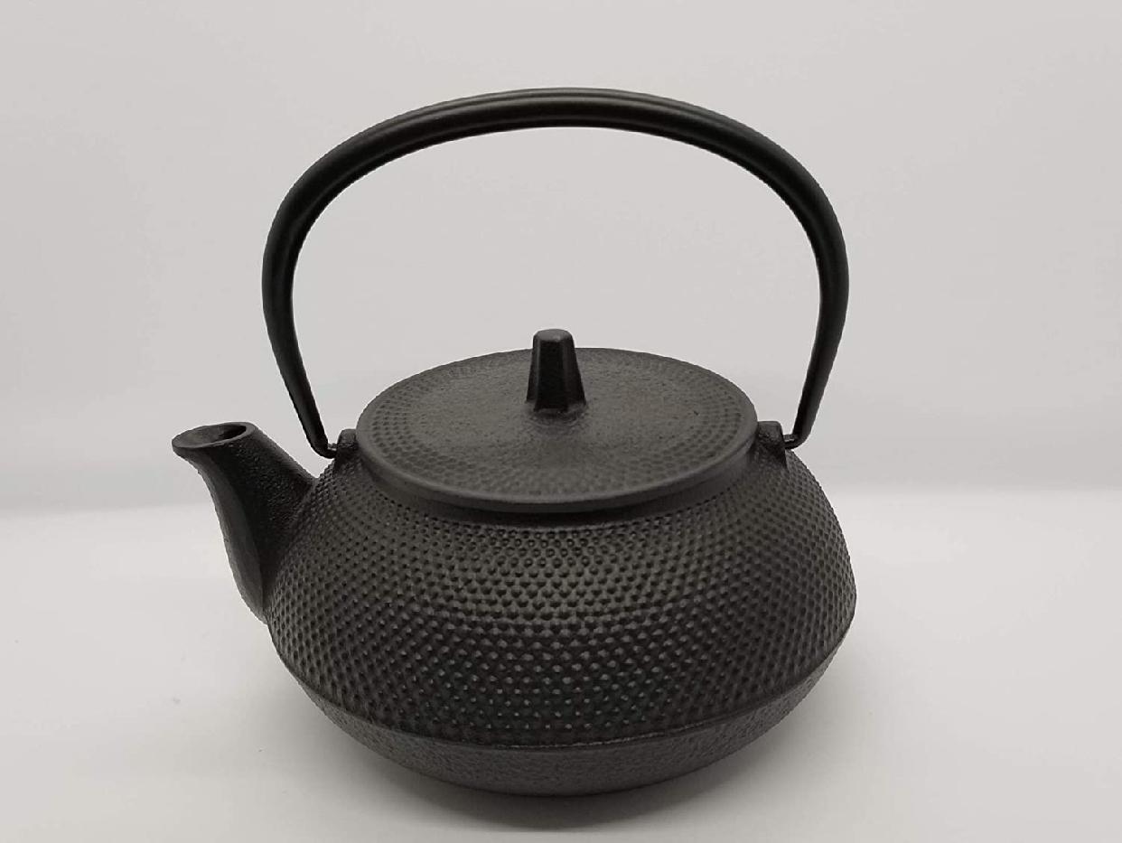 岩鋳(Iwachu) 鉄瓶兼用急須 5型新アラレ ブラックの商品画像3
