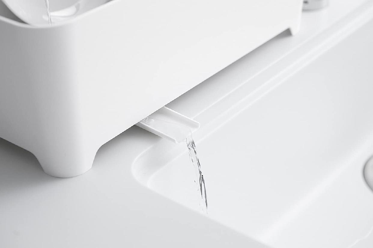山崎実業(Yamazaki) 洗い桶 タワー 3591 ホワイトの商品画像4