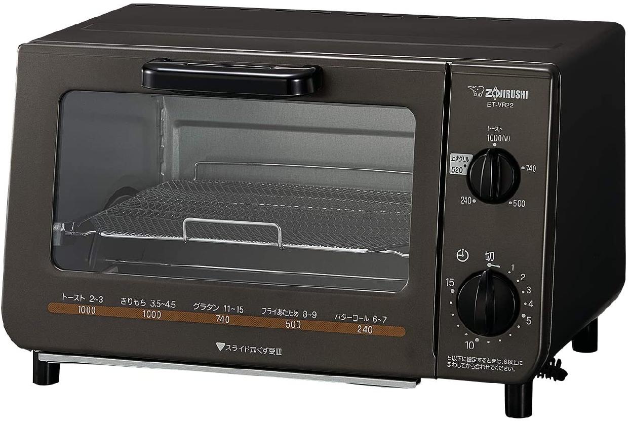 象印(ZOJIRUSHI) オーブントースター こんがり倶楽部 ET-VB22-TMの商品画像