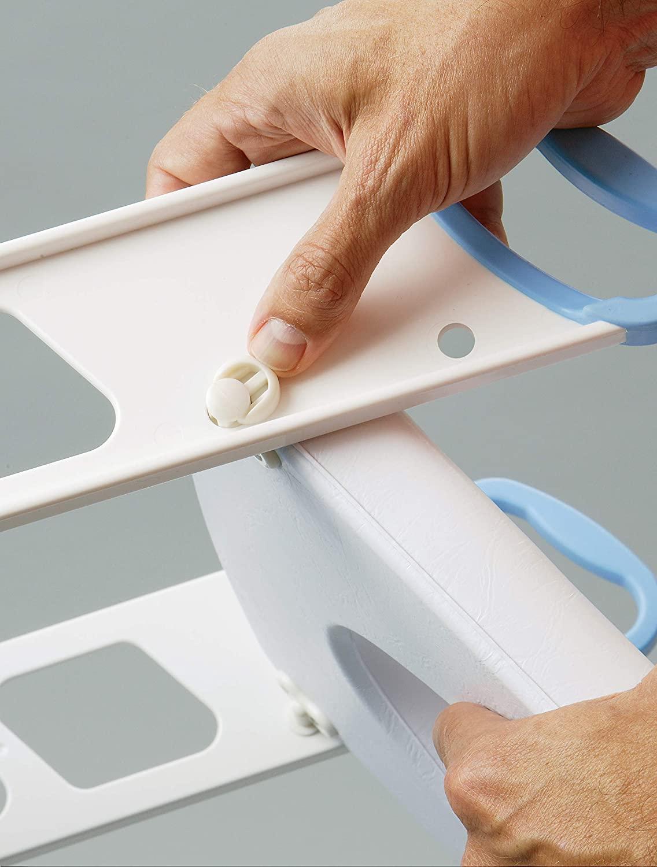 MOMMY'S HELPER(マミーズヘルパー) トイレトレーニング 補助便座 ステップ付 (折りたたみ式)の商品画像7