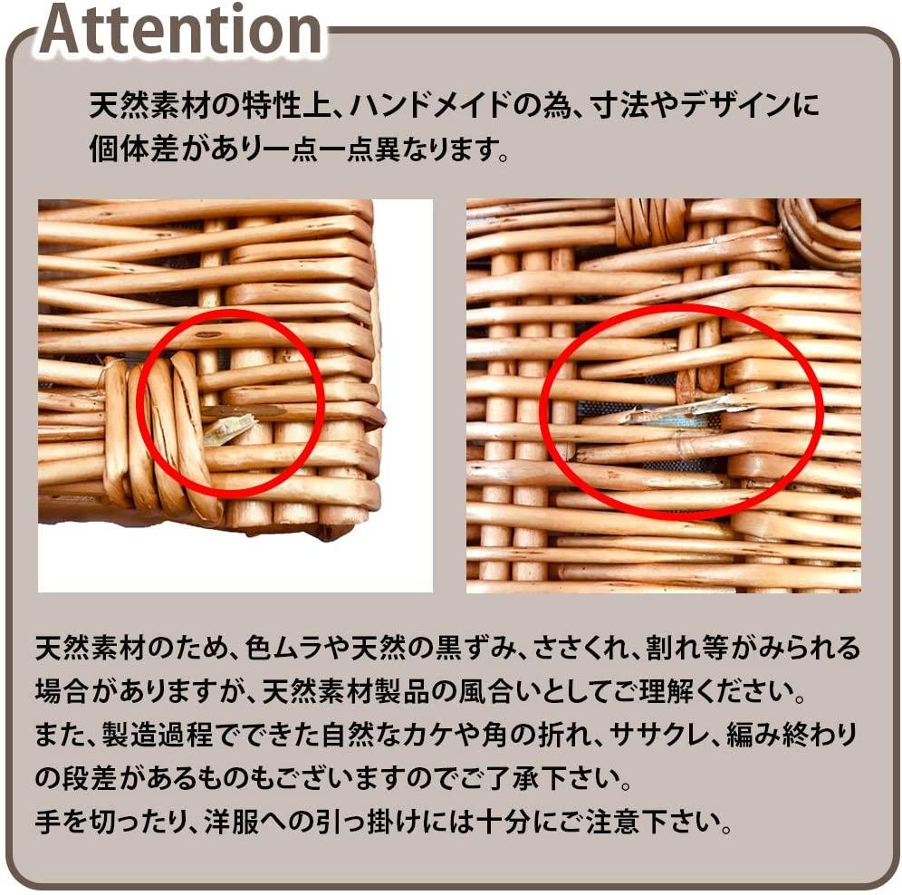 LoaMythos(ロアミトス)All in One Picnic Basket(保温・保冷ができるミニクーラーバッグ付き)ブラウン 1003671の商品画像8