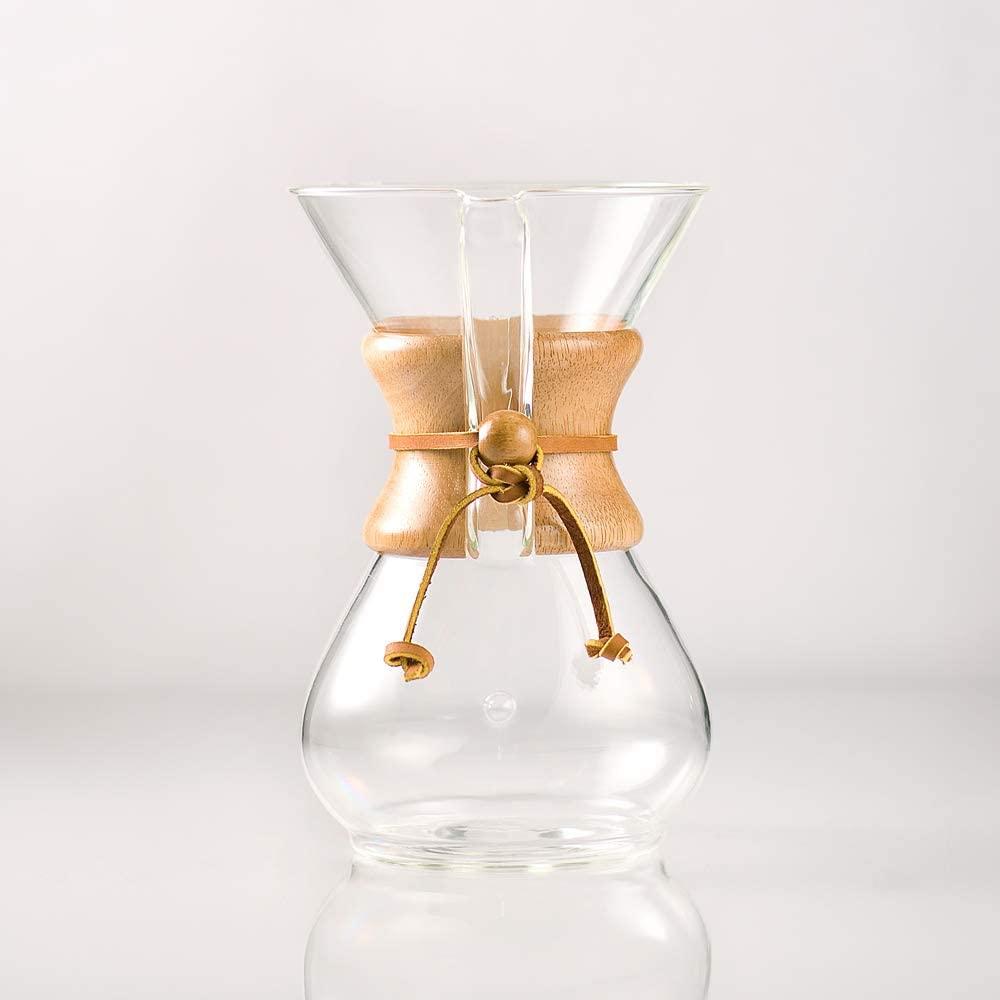 CHEMEX(ケメックス) コーヒーメーカー 6カップ CM-6A クリアの商品画像2