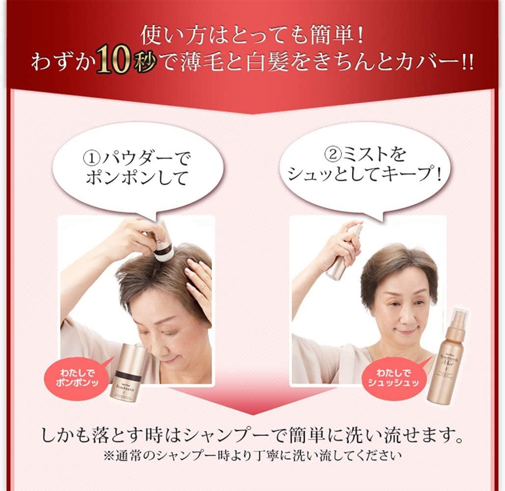 HairPlus(ヘアプラス) ヘアプラス ビューファンデ パウダーの商品画像4