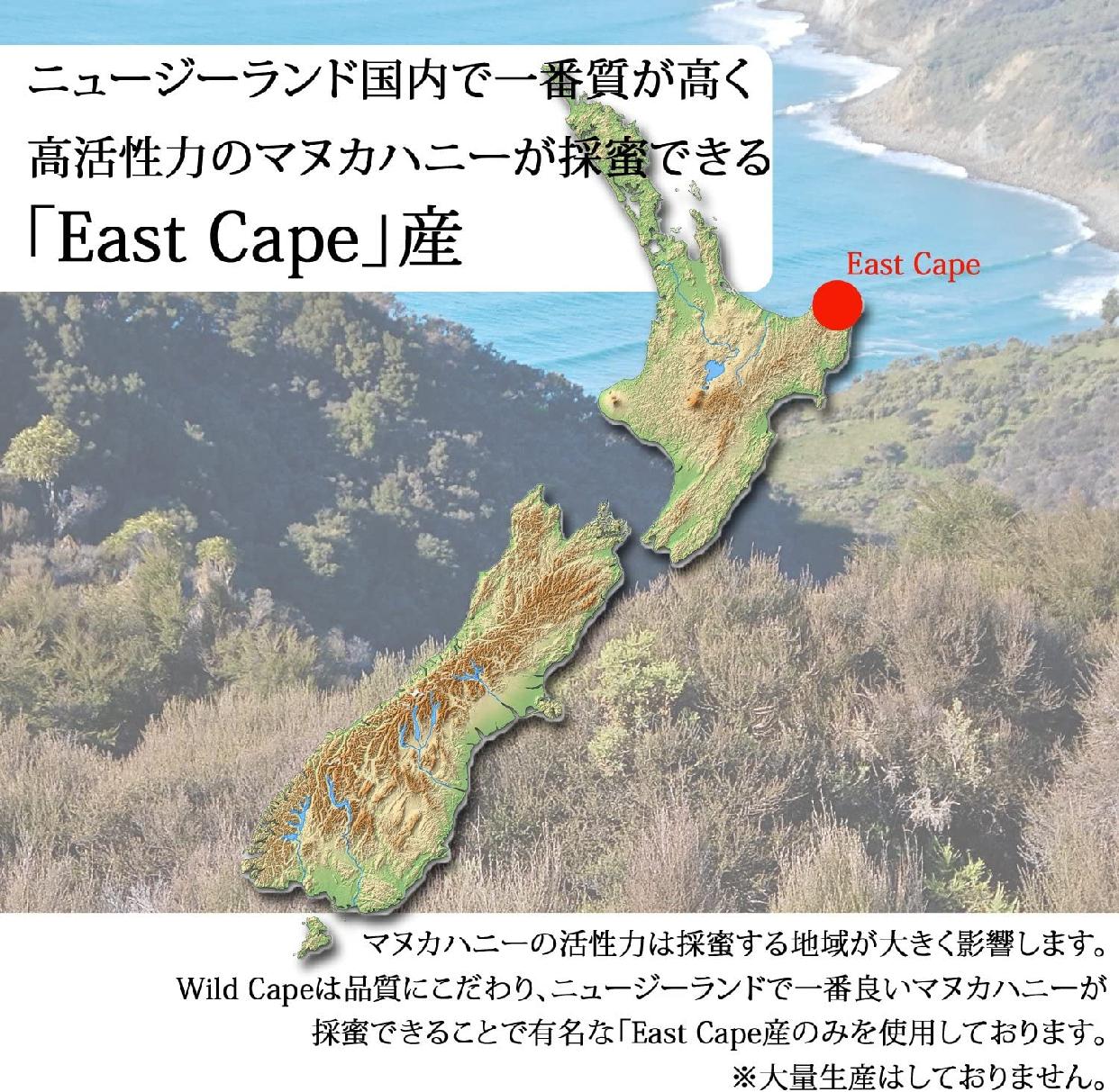 Wild Cape(ワイルドケープ) マヌカハニー UMF 15+ MGO 550+の商品画像12