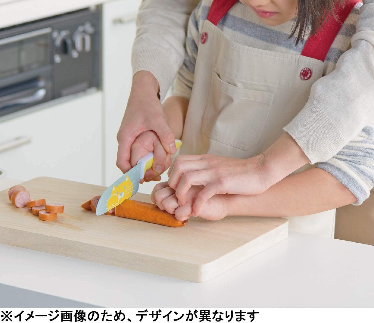 富士カトラリー(フジカトラリー)子供向け包丁 グーテ 子供用包丁(両刃) FC-791の商品画像3
