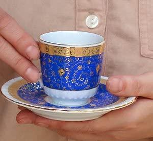 Gural Porseren(ギュラルポルセレン) ゴールデンホーン デミタスコーヒーカップ&ソーサー2客セットの商品画像3