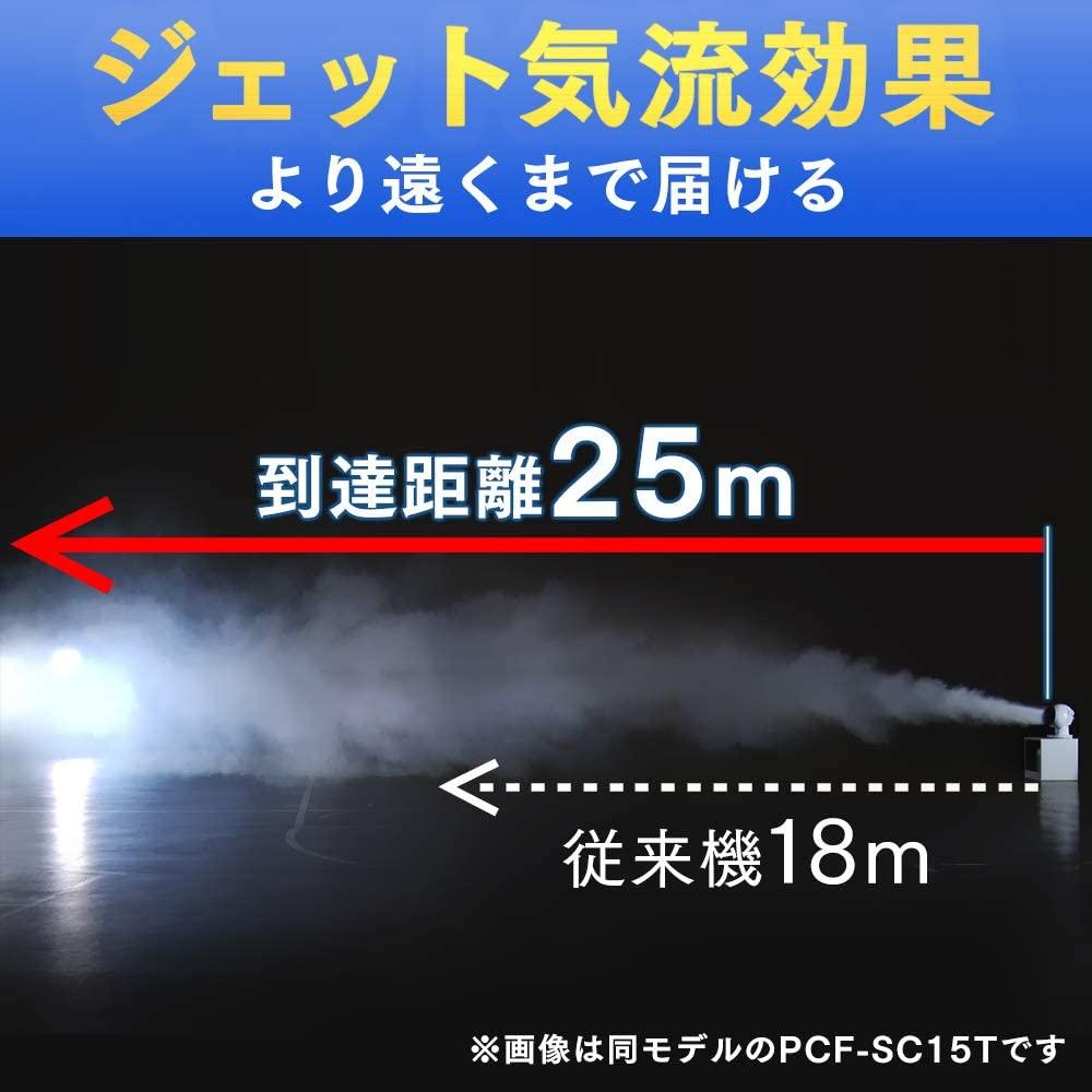 IRIS OHYAMA(アイリスオーヤマ) サーキュレーター アイ 18畳 ボール型上下左右首振り PCF-SC15Tの商品画像4
