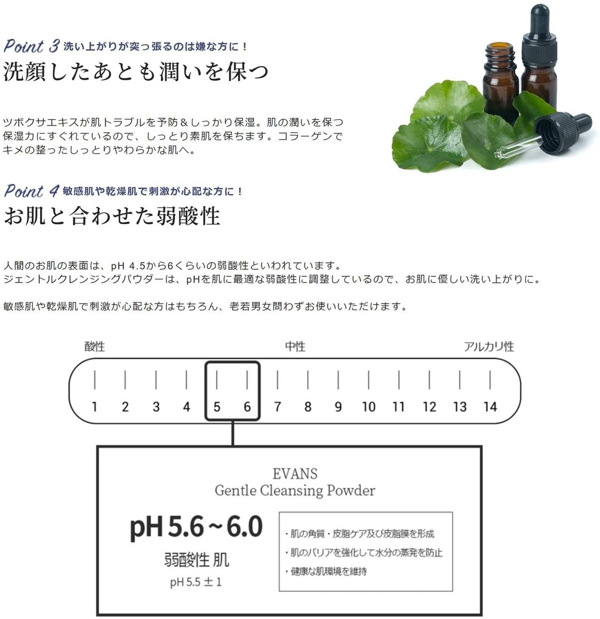 EVANS(エバンス) ジェントルクレンジングパウダーの商品画像5