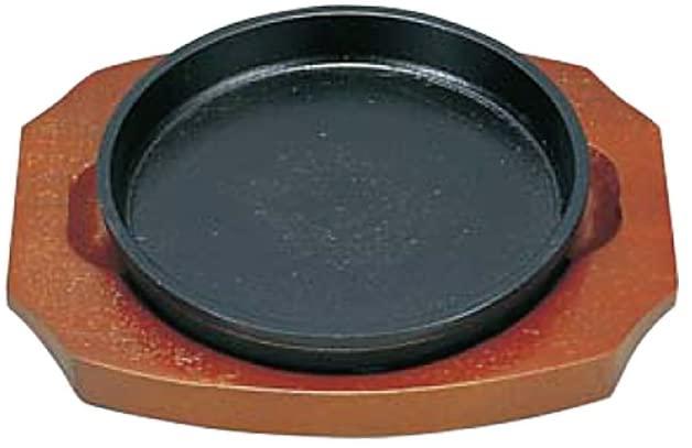 KANKUMA(カンクマ) S餃子皿 丸14cm(木台付)の商品画像