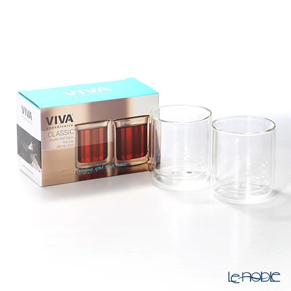 VIVA Scandinavia(ビバ スカンジナビア) クラシック ダブルウォールカップ 180cc ペアの商品画像4