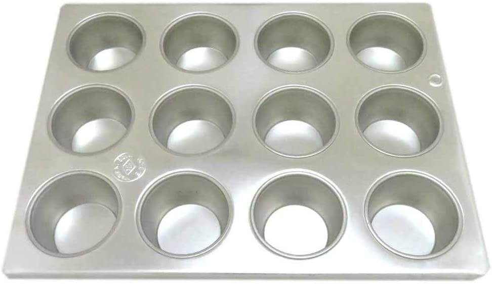 TKG(ティーケージー)ブリキ マフィン型  #10カップ 12ヶ付  WMH-24シルバーの商品画像4