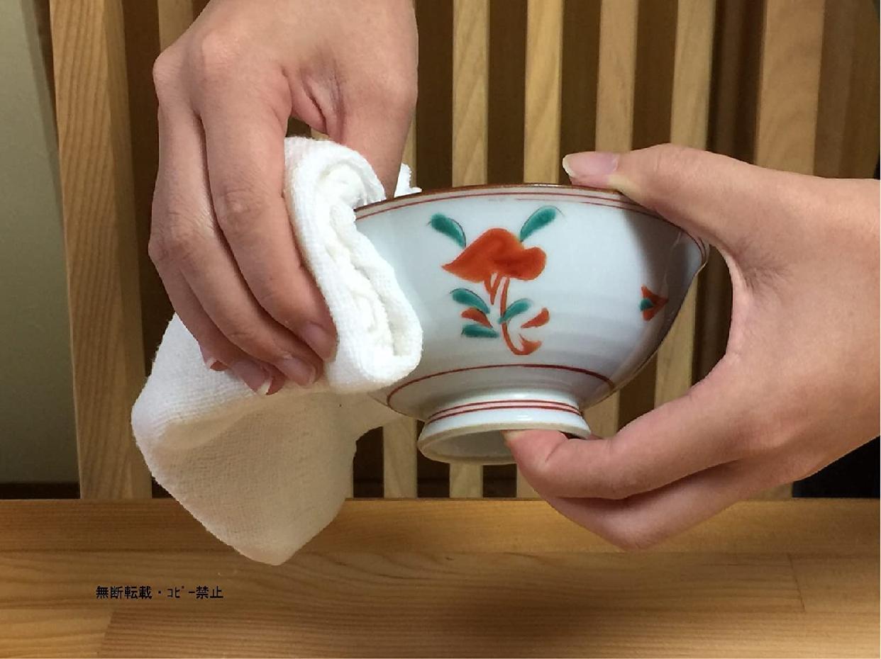 福市祐徳堂(フクシユウトクドウ)蚊帳生地ふきん ベージュの商品画像4