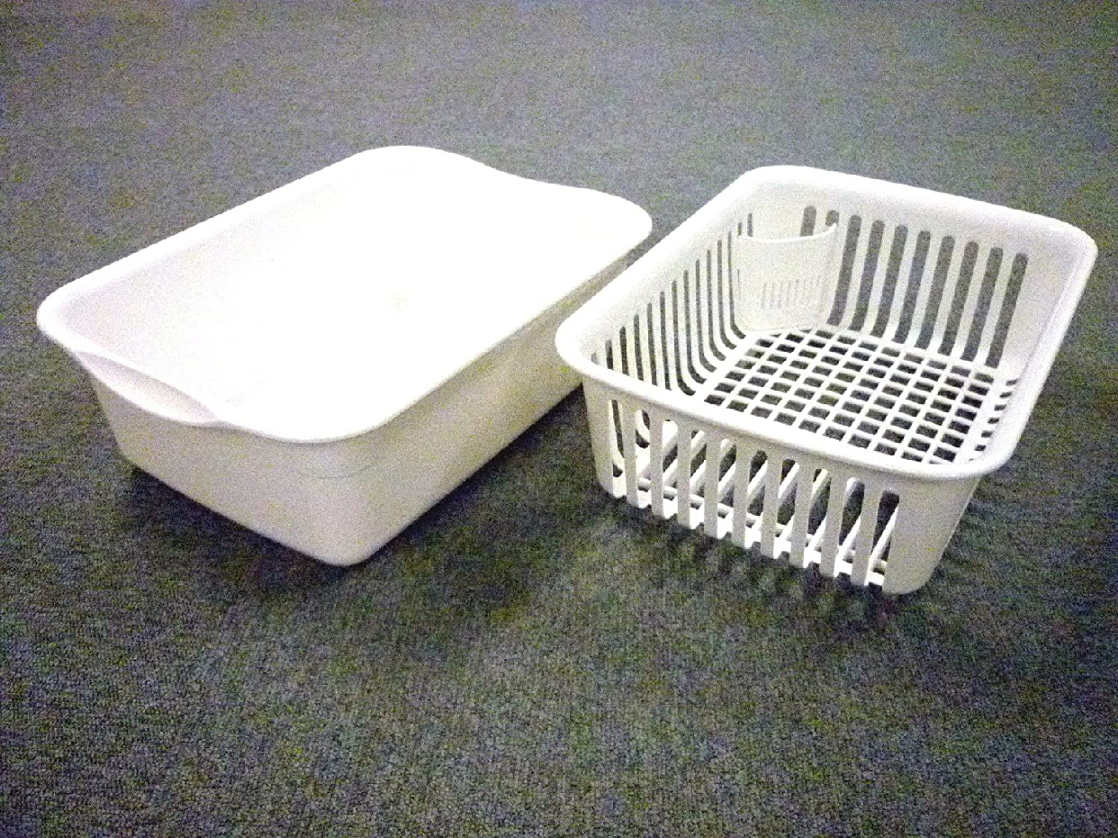 N POSE(エヌポゼ) 水切セット 大 フード付き ホワイトの商品画像3