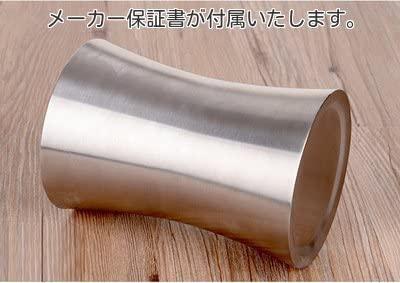 LB本舗(エルビーホンポ) 二重構造 ワインクーラー 曲線タイプ ステンレスの商品画像2