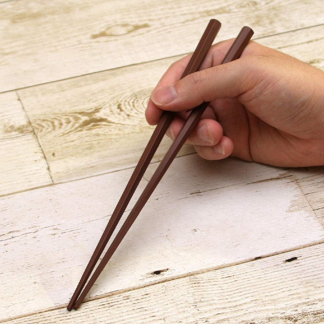 SUNLIFE(サンライフ) 彩り六角PBT箸 23cm 5膳セット 316450の商品画像5
