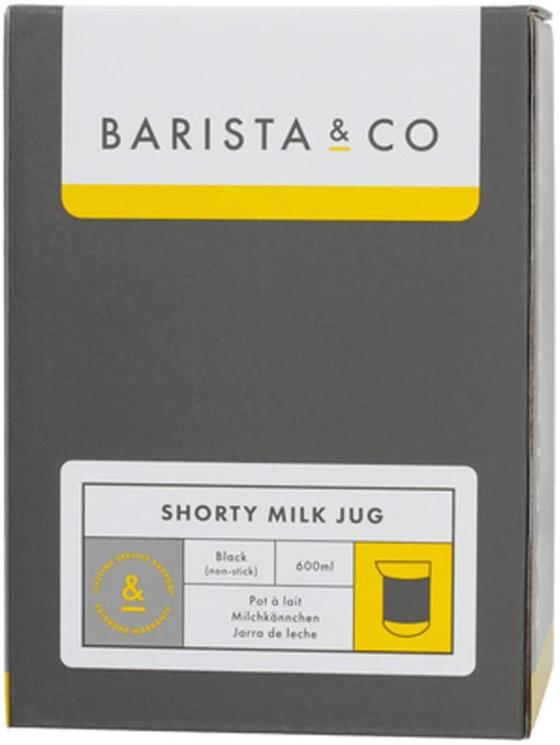 BARISTA&CO(バリスタアンドコー)Shorty Milk Jug 600ml ショーティーミルクジャグ Blackの商品画像2