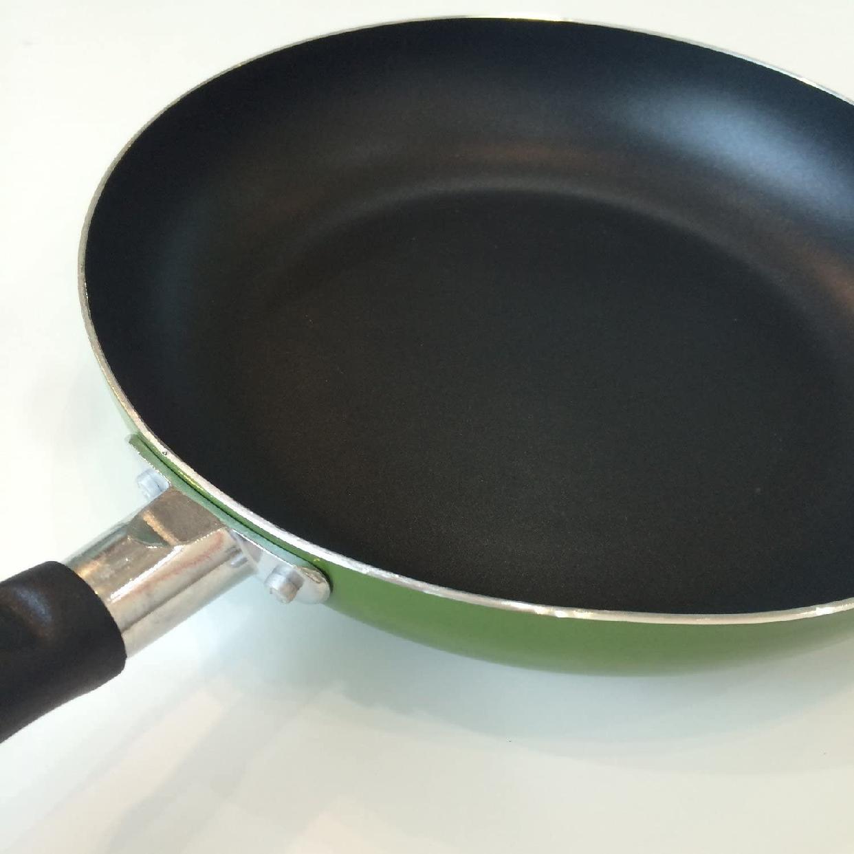 パール金属(PEARL) フォア フライパン 24cm IH対応 H-1861 グリーンの商品画像2