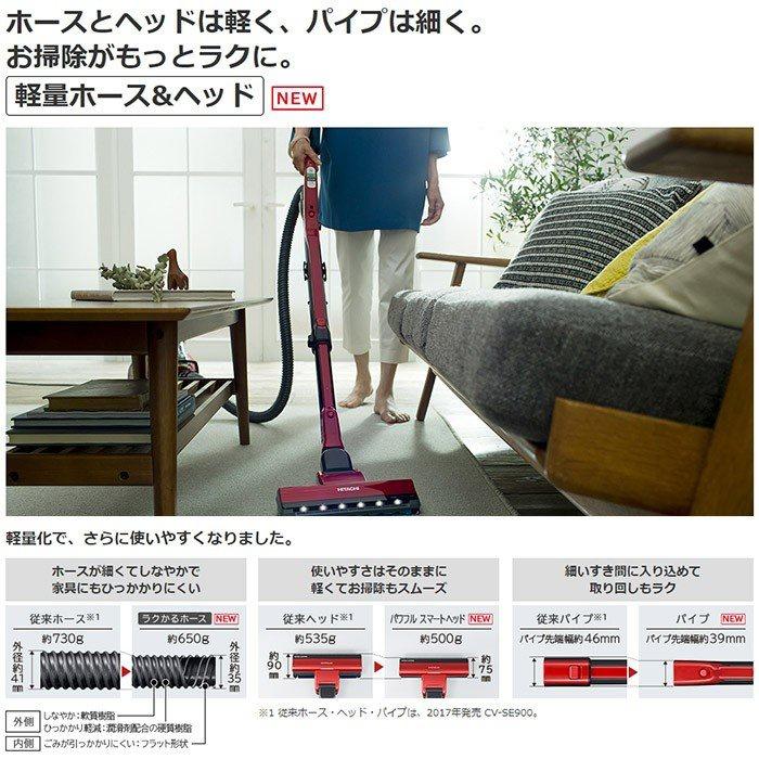 日立(HITACHI) パワーブーストサイクロン CV-SF900の商品画像2
