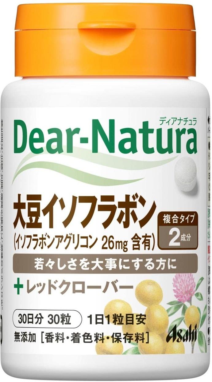 Dear-Natura(ディアナチュラ) 大豆イソフラボン with レッドクローバーの商品画像