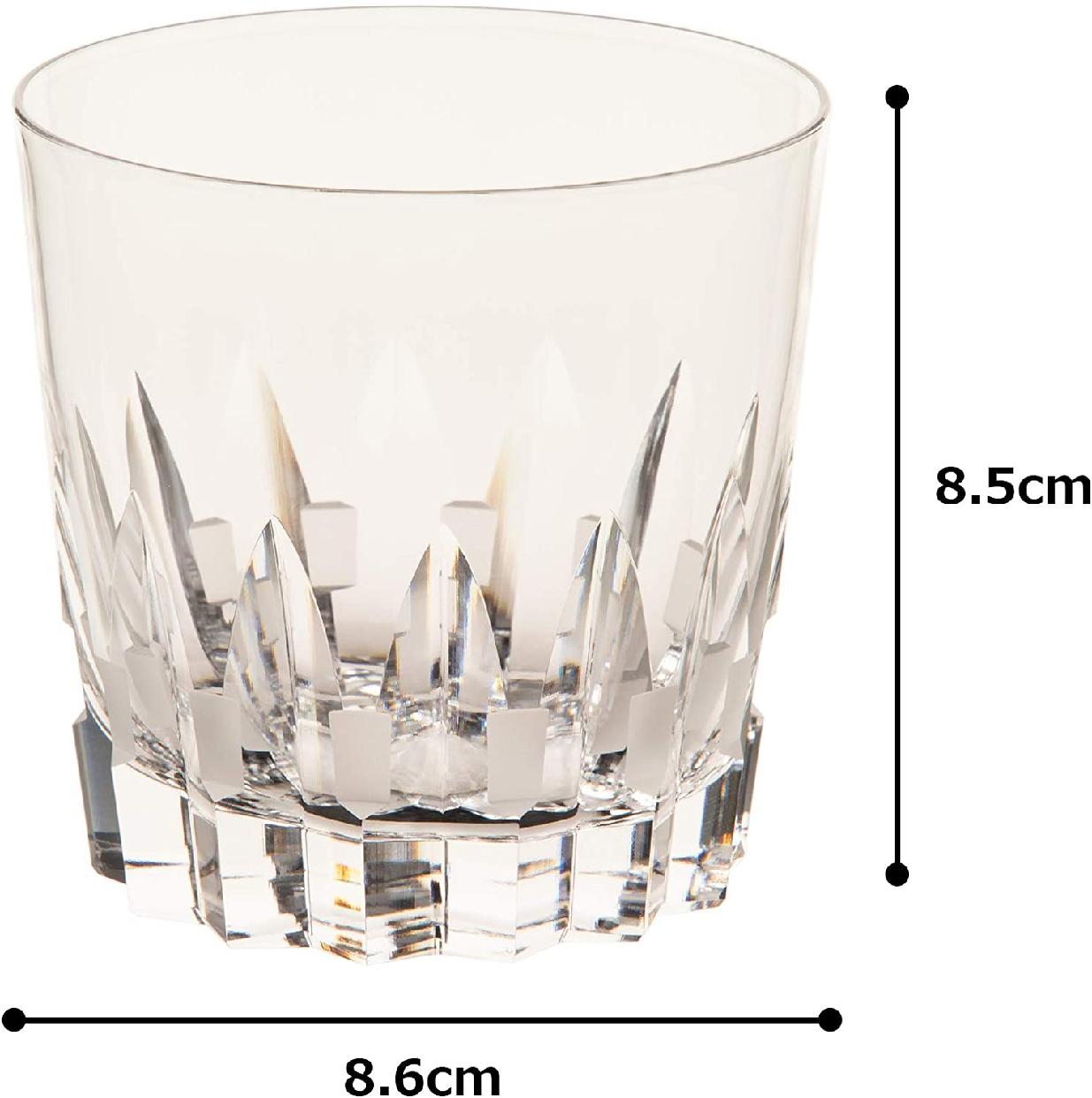 カガミクリスタル ロックグラス<校倉>270㏄ T394-312の商品画像6