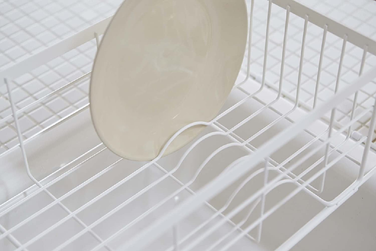 山崎実業(Yamazaki) 伸縮水切りバスケット トスカ 3108 ホワイトの商品画像4