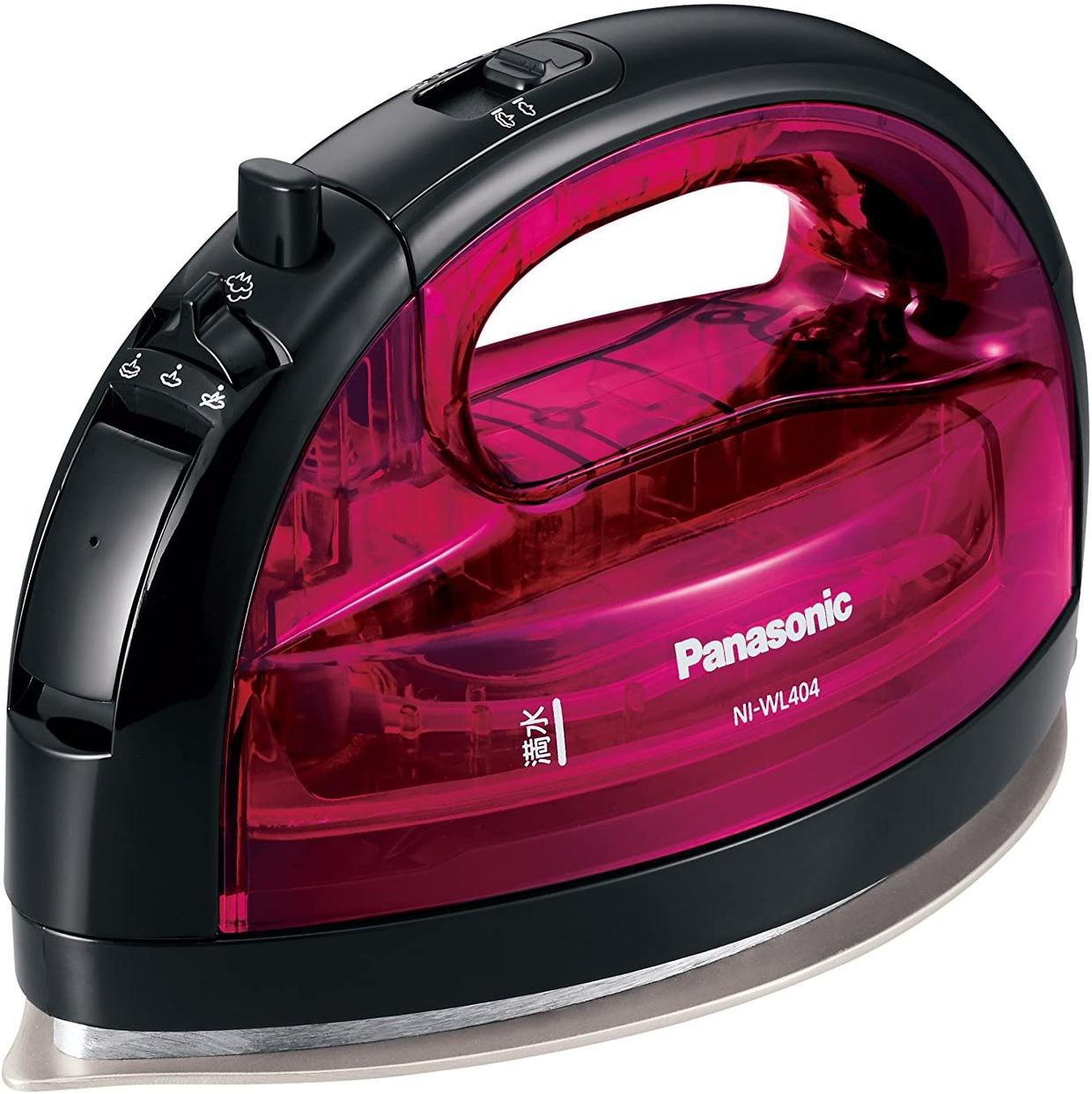 Panasonic(パナソニック) コードレススチームWヘッドアイロン NI-WL404-Pの商品画像