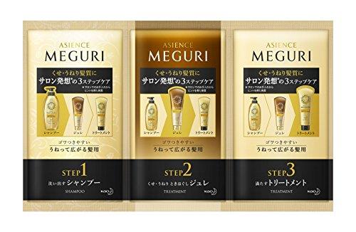 ASIENCE MEGURI(アジエンスMEGURI) アジエンスMEGURI ゴワつきやすい うねって広がる髪用 トライアルセットの商品画像