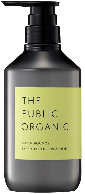 THE PUBLIC ORGANIC(ザ パブリック オーガニック) スーパーバウンシー  精油トリートメント