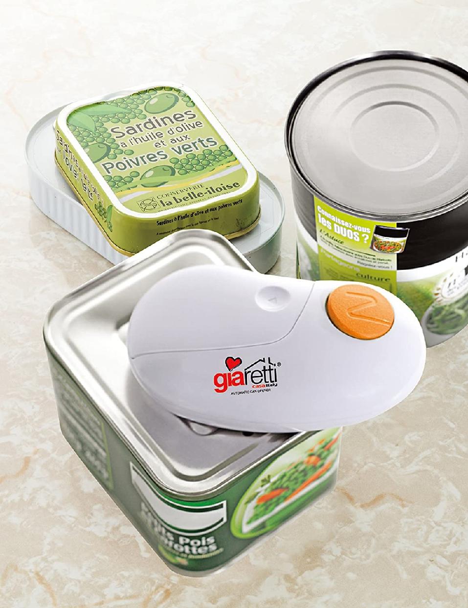 Giaretti(ジアレッティ) 自動缶オープナー GR-86Rの商品画像