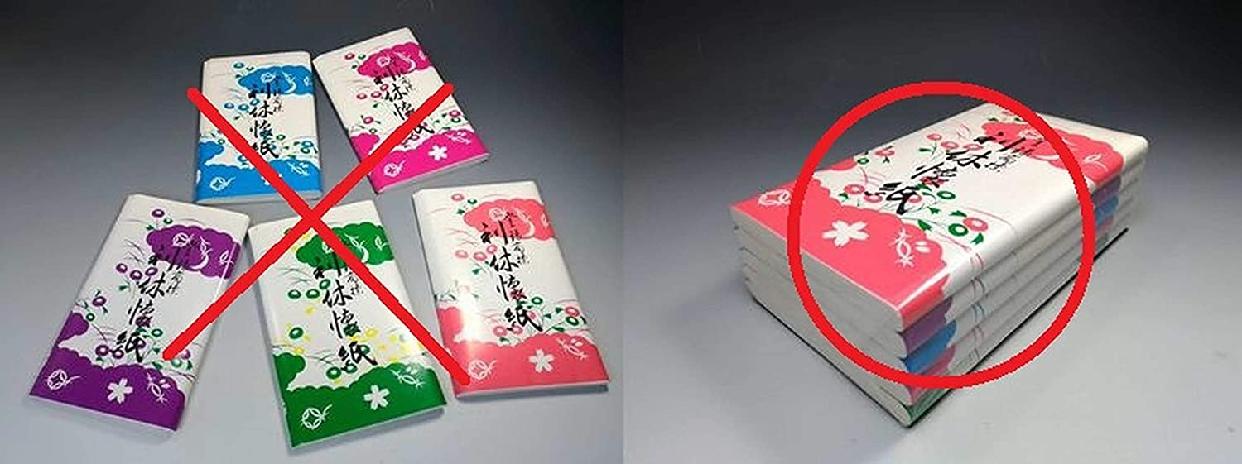 徳増茶道具(トクマサドウグ) 利休懐紙 無地 女性用 150枚の商品画像6